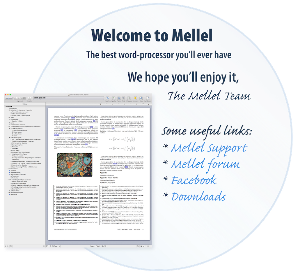 Thanks For Purchasing Mellel